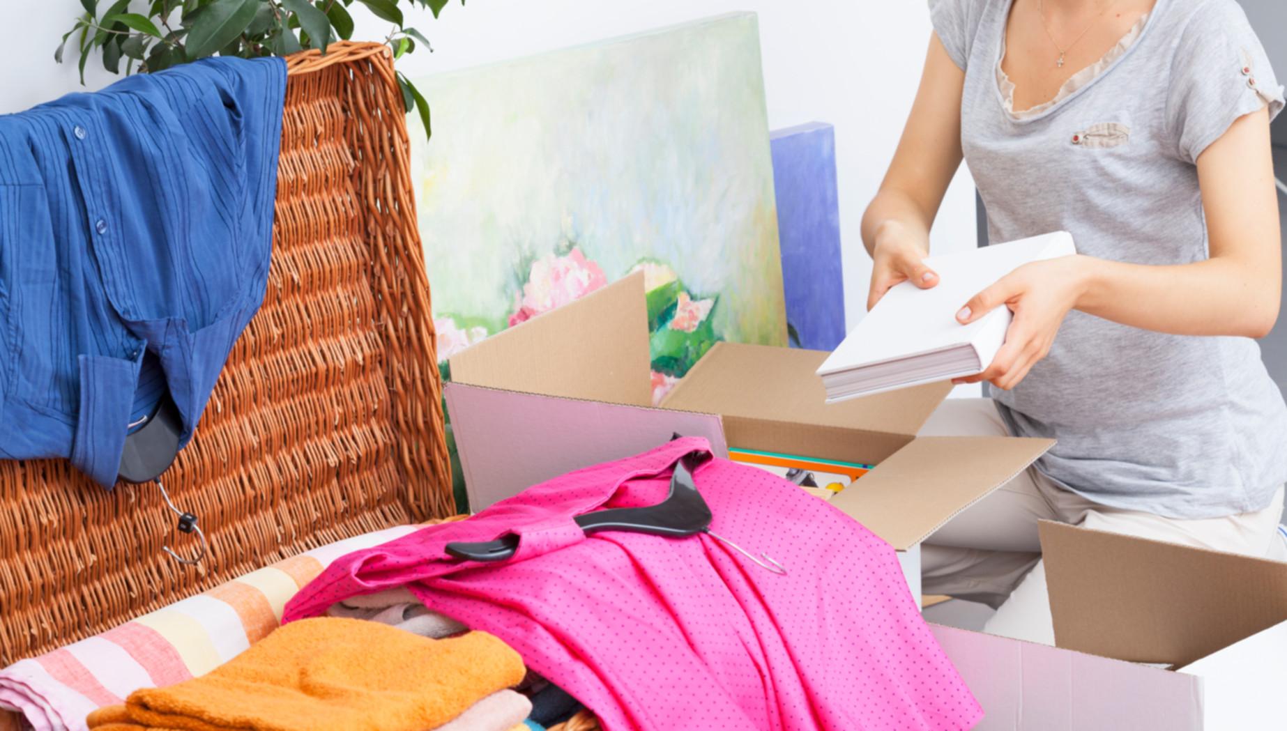 Einpacken für den Umzug