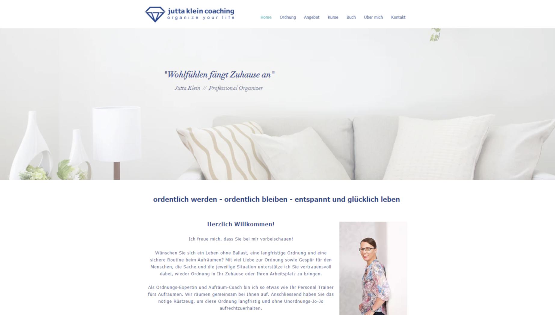 Website Bild von Jutta Klein